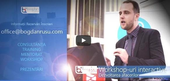 Workshops Training Consultanta Evenimente